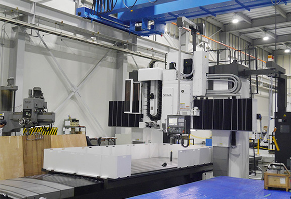 LARGED-SIZED DOUBLED-COLUMN MACHINING CENTERS(OKUMA)